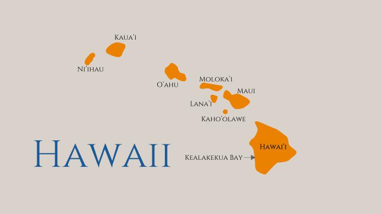 Carte Hawaii